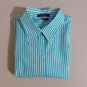 NWT Chaps Women's Button Front Shirt